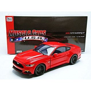 AUTOWORLD AMM AW221 1/18 2015 Ford Mustang GT RED