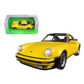 WELLY WEL 24043YEL 1974 PORSCHE 911 TURBO 3.0 1/24 DIECAST