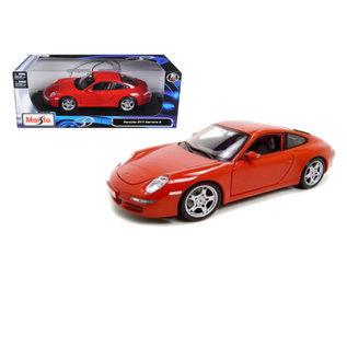 MAISTO MAI 31692 PORSCHE 911 CARRERA S 1/18 DIECAST RED