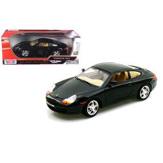 MOTOR MAX MOT 73101BLK PORSCHE 911 BLACK 1/18 DIECAST