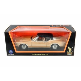 YATMING Y/M LT92558BR 1971 BUICK RIVIERA GS 1/18 DIECAST