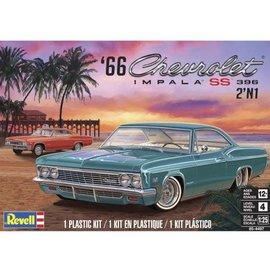 REVELL USA RMX 854497 1966 CHEVY IMPALA SS 396 2N1 MODEL KIT