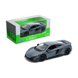 WELLY WEL 24089GRY MCLAREN 675LT GREY DIECAST 1/24