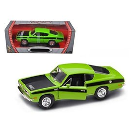 YATMING Y/M 92179GR 1969 BARRACUDA GREEN 1/18
