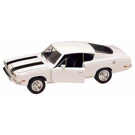 YATMING Y/M 92179W 1969 BARRACUDA WHITE 1/18 DIECAST