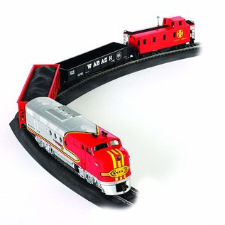 BACHMANN TRAINS BAC 00647 SANTAFE FLYER HO TRAIN STARTER SET