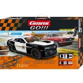 CARRERA CAR 62462 ON THE RUN SLOT CAR SET