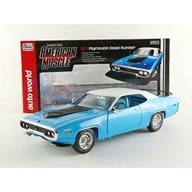 AUTOWORLD ERT 1012 1971 PLYMOUTH ROADRUNNER 1/18 DIECAST
