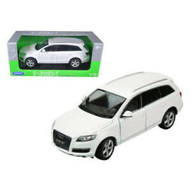 WELLY WEL 18032WH AUDI Q7 1/18 WHITE DIECAST