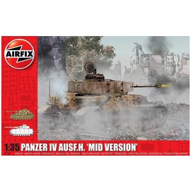 AIRFIX AIR A1351 PANZER IV AUSF H MID VERSION MODEL KIT 1/35