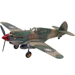 REVELL USA RMX 855209 P-40B TIGER SHARK 1/48 MODEL KIT