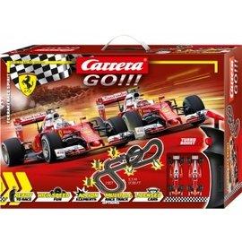 CARRERA CAR 20062505 FERRARI RACE SPIRIT GO SLOTCAR SET