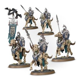 GAMES WORKSHOP WAR 99120207077 AOS OSSIARCH BONEREAPERS KAVALOS DEATHRIDERS