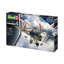 REVELL GERMANY REV 03907 1/48 BRITISH SE5A MODEL KIT