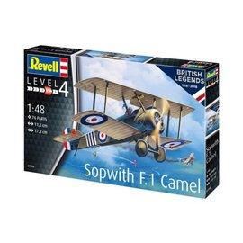 REVELL GERMANY REV 03906 1/48 SOPWITH F.1 CAMEL MODEL KIT