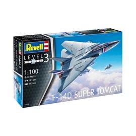 REVELL GERMANY REV 63950 F14D TOMCAT COMPLETE MODEL SET 1/100
