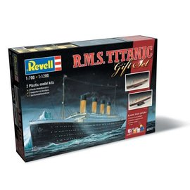 REVELL GERMANY REV 05727 TITANIC GIFT SET COMPLETE MODEL SET