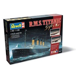 REVELL GERMANY REV 05727 TITANIC GIFT SET COMPLETE MODEL SET