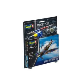 REVELL GERMANY REV 63953 1/72 SPITFIRE MK2A COMPLETE MODEL SET