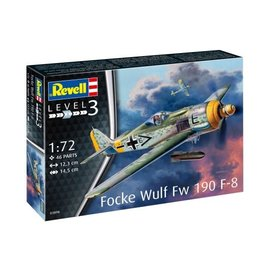 REVELL GERMANY REV 63898 FOCKE WULF FW190 F-8 COMPLETE MODEL SET
