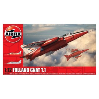 AIRFIX AIR 2105 FOLLAND GNAT T1 1/72 MODEL KIT