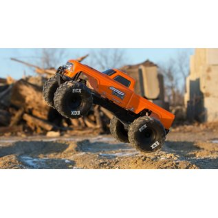 ECX 03048T2 ORANGE AMP CRUSHER MT 1/10 READY TO RUN