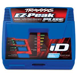 TRAXXAS TRA 2970 EZ-Peak Plus 4amp NiMH/LiPo Charger w/iD Auto Batt