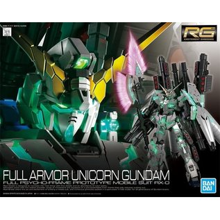 BANDAI BAN 5055586 1/144 #30 Full Armor Gundam Unicorn Gundam UC RG
