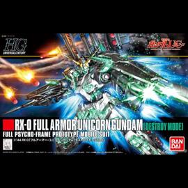 BANDAI BAN 5058005 RX-0 FULL ARMOR UNICORN GUNDAM