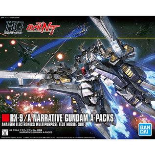 BANDAI BAN 5055365 1/144 #218 Narrative Gundam APacks Gundam NT UC HG
