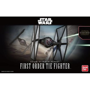BANDAI BAN 203218 1/72 First Order Tie Fighter SW Force Awakens model kit