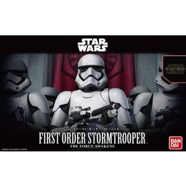 BANDAI BAN 203217 FIRST ORDER STORMTROOPER MODEL KIT 1/12