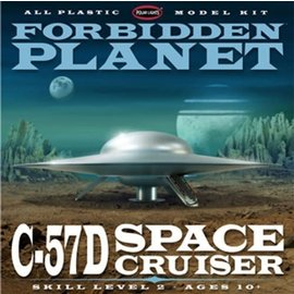 POLAR LIGHTS POL 895/12 1/144 Forbidden Planet C-57D Starcruiser model kit