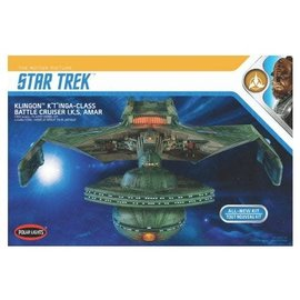 POLAR LIGHTS POL 950 1/350 Star Trek Klingon K't'inga model kit