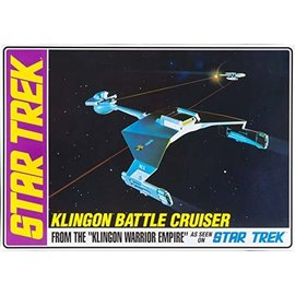 AMT AMT 720 1/650 Star Trek Klingon Battle Cruiser Std Ed.