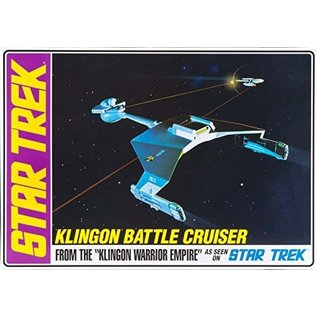 AMT AMT 720 1/650 Star Trek Klingon Battle Cruiser Std Ed.