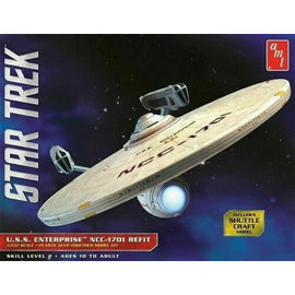 AMT AMT 1080/12 1/537 Star Trek USS Enterprise Refit model kit