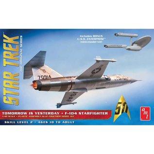 AMT AMT 953 F104 STARFIGHTER STAR TREK EDITION 1/48 MODEL KIT