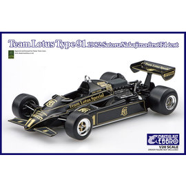 EBBRO EBB 20021 TEAM LOTUS TYPE 91 1/20 MODEL KIT