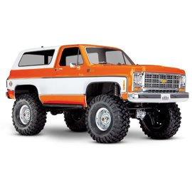TRAXXAS TRA 82076-4-ORNG CHEVY BLAZER TRX4 READY TO RUN