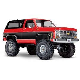 TRAXXAS TRA 82076-4 RED/BLACK CHEVY BLAZER TRX4 READY TO RUN