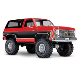 TRAXXAS TRA 82076-4-RED CHEVY BLAZER TRX4 READY TO RUN