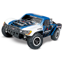 TRAXXAS TRA 68086-4-VISN Slash 4X4: 1/10 Scale 4WD Electric Short Course Truck with TQi Traxxas Link Enabled 2.4GHz Radio System & Traxxas Stability Management