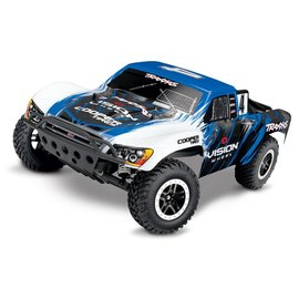 TRAXXAS TRA 58034-1-VISN VISION SLASH 2WD XL5 BRUSHED READY TO RUN