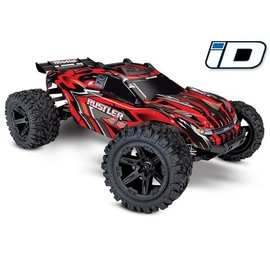 TRAXXAS TRA 67064-1-RED Rustler 4X4: 1/10-scale 4WD Stadium Truck Brushed ready to run
