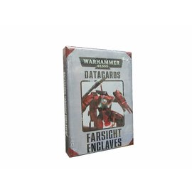 GAMES WORKSHOP WAR 60220113002 DATACARDS FARSIGHT ENCLAVES 40K