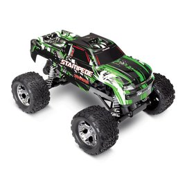 TRAXXAS TRA 36054-1-GRN STAMPEDE 2WD RTR GREEN XL5 BRUSHED READY TO RUN