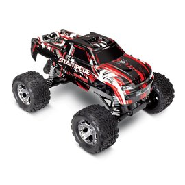 TRAXXAS TRA 36054-1-REDX Stampede: 1/10 Scale Monster Truck with TQ 2.4GHz radio system