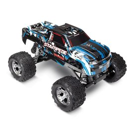TRAXXAS TRA 36054-1-BLUEX Stampede: 1/10 Scale Monster Truck with TQ 2.4GHz radio system