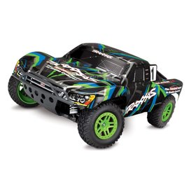 TRAXXAS TRA 68054-1-GRN TRAXXAS SLASH 4X4 BRUSHED READY TO RUN